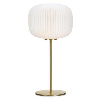 Lampa stołowa SOBER Mosiądz/Biały 107819 Markslöjd 107819