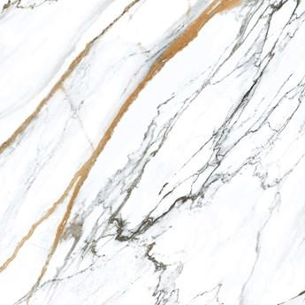 Oikos Gold 120x120 plytka imitująca marmur