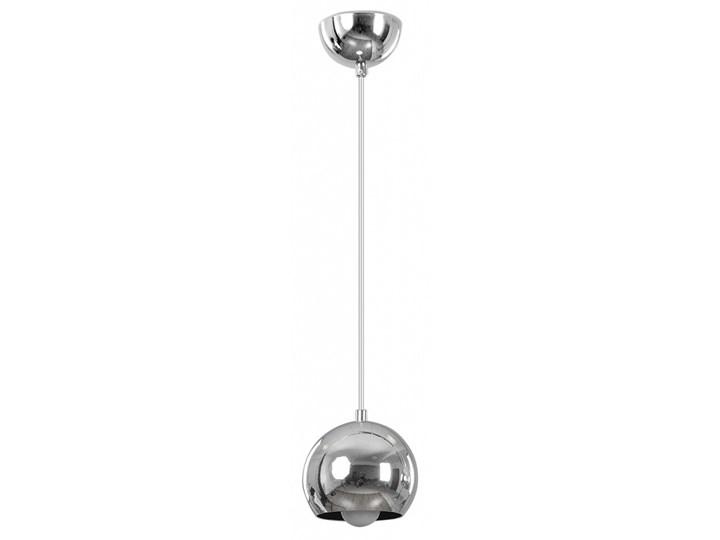 BALL 1 CHROME 404/1 chromowana kula wisząca super efekt Lampa z kloszem Lampa kula Metal Styl Nowoczesny