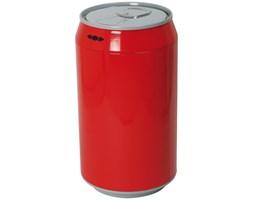 Elektryczny śmietnik w kształcie puszki 30L czerwony
