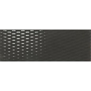 Meteoris Industrial Graphite Rect. 35x100 płytka ścienna