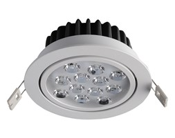 Italux Pitch wpust LED  ciepła 12W TS04136A 12W 1200LM 3000K S.WH