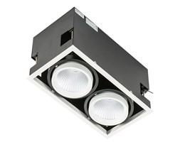 Italux Vertico Double 3000K wpust LED  ciepła 18W GL7108-2/2X18W 3000K WH+BL
