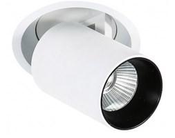 Italux Merge 3000K wpust LED  ciepła 12W SL74058/12W 3000K WH+BL