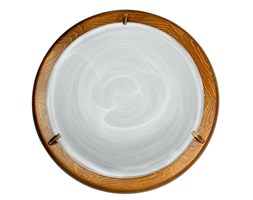 Plafon szklany do przedpokoju brązowy Candellux DUNA 13-64069