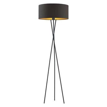 Lampa stojąca z abażurem PARYŻ GOLD WYSYŁKA 24H