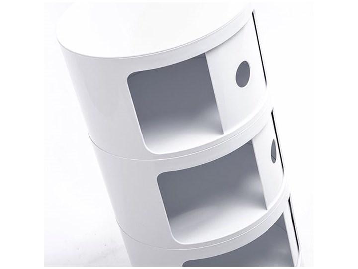 Nowoczesna szafka Istan  4X Styl Minimalistyczny Kolor Biały