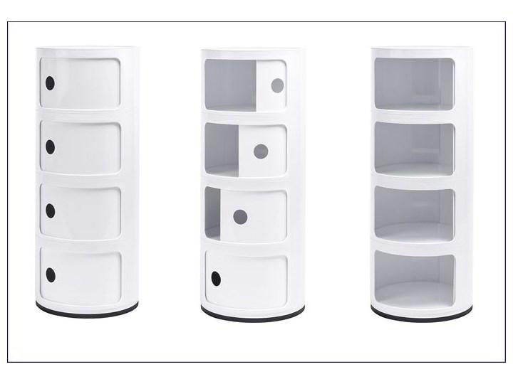 Nowoczesna szafka Istan  4X Kolor Biały