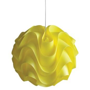 Żółta lampa wisząca WAVE II W-3022 YL
