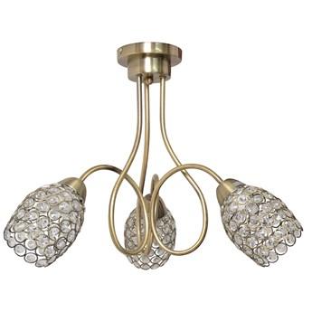 Patynowy żyrandol z kryształkami DANNI W-HY 1547/3 AB