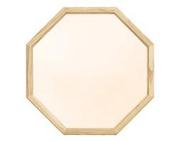 Lust Normann Copenhagen średnie, ośmiokątne lustro ścienne w kolorze złotym