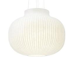 Muuto Strand Ø80 cm - duża, nowoczesna lampa wisząca o subtelnym, zamkniętym kształcie klosza