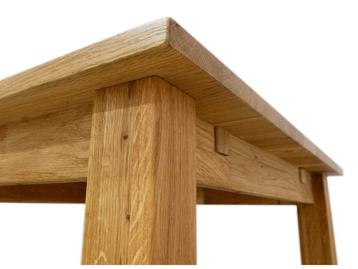 Stół dębowy Natur 180 + 2x40cm Soolido Meble Drewno Szerokość 80 cm Długość 180 cm  Szerokość 90 cm Pomieszczenie Stoły do kuchni