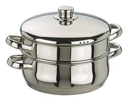 Dwupoziomowy garnek do gotowania na parze - (S)20,5 x (W)27,5 x (G)26 cm