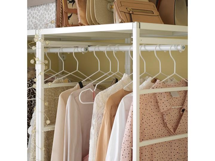 IKEA JONAXEL Kombinacja szafy, biały, 198x51x173 cm Metal Stal Styl Nowoczesny Typ Modułowa