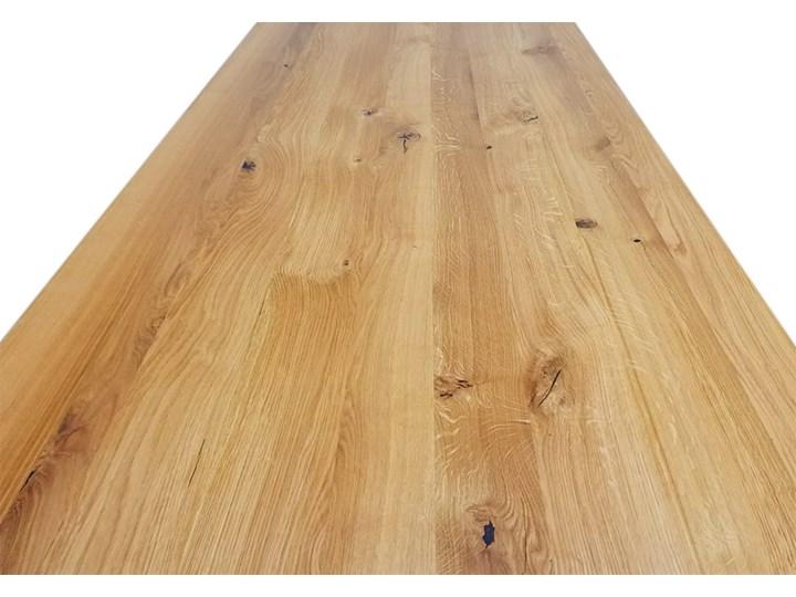 Stół dębowy Natur 160 + 2x40cm Soolido Meble Szerokość 90 cm Pomieszczenie Stoły do kuchni Długość 160 cm  Drewno Pomieszczenie Stoły do jadalni
