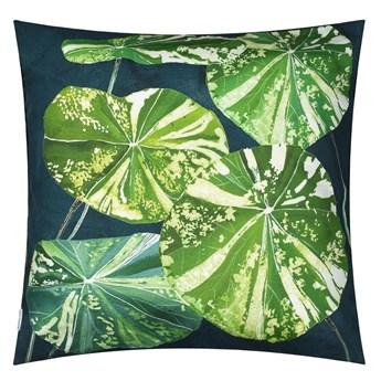 Poszewka na poduszkę dekoracyjną Designers Guild Arjuna Leaf Viridian