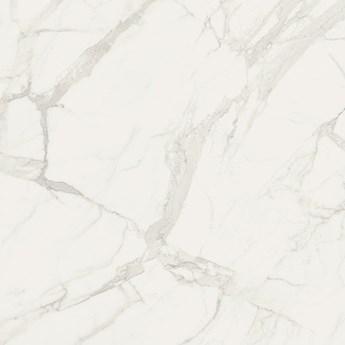 Marmorea Bianco Statuario Effect Pol. 74x74 płytka imitująca marmur