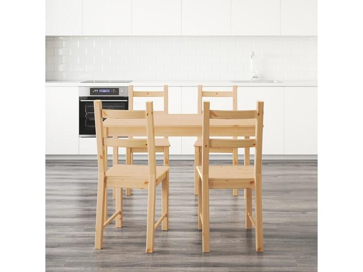 INGO / IVAR Stół i 4 krzesła Kolor Beżowy