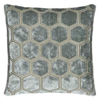 Poduszka dekoracyjna Designers Guild Manipur Silver