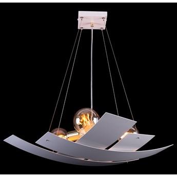 SOFIX 3 WHITE 606/3 oryginalna lampa wisząca biała złote elementy dekoracyjne