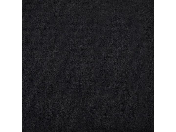 Aksamitny narożnik  w stylu Chesterfield Charlotte 4Q - czarny Szerokość 165 cm Szerokość 199 cm Wysokość 72 cm Wysokość 42 cm Szerokość 142 cm Nóżki Na nóżkach