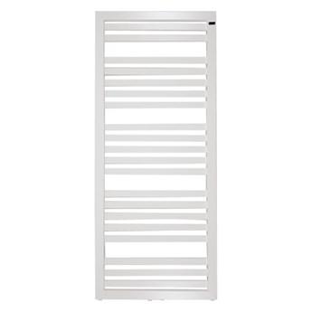 Grzejnik łazienkowy Kleo 128 x 54 cm biały mat