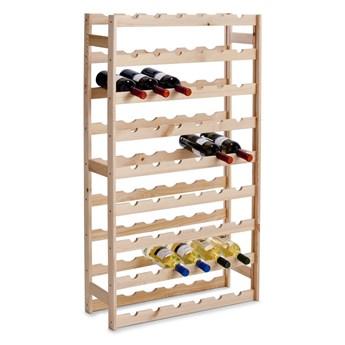 Drewniany stojak na wino - aż 54 butelki, ZELLER