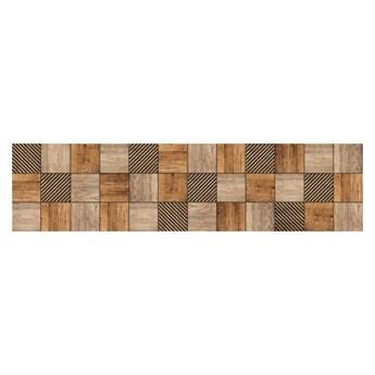 Mozaika Foresta 15 x 60 cm brązowa