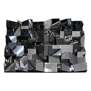 Lustrzana geometryczna dekoracja 80x120 cm JZ0030