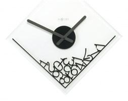 NeXtime Simple Times - Zegar ścienny - Dropped Numerals