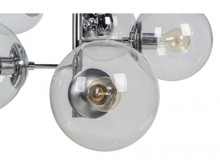 Lampa wisząca SYDNEY 11091 Lumenq 11091 Lampa z kloszem Metal Kolor Szary Szkło Styl Nowoczesny