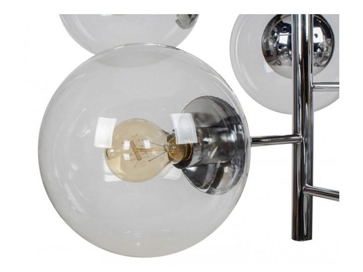 Lampa wisząca SYDNEY 11091 Lumenq 11091 Styl Nowoczesny Metal Szkło Lampa z kloszem Kolor Szary