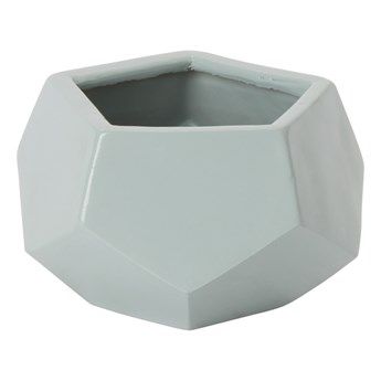 Doniczka ceramiczna C55 GoodHome ozdobna 9 cm egg