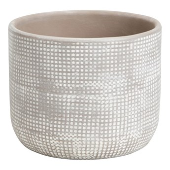 Doniczka ceramiczna GoodHome ozdobna 10,5 cm dots