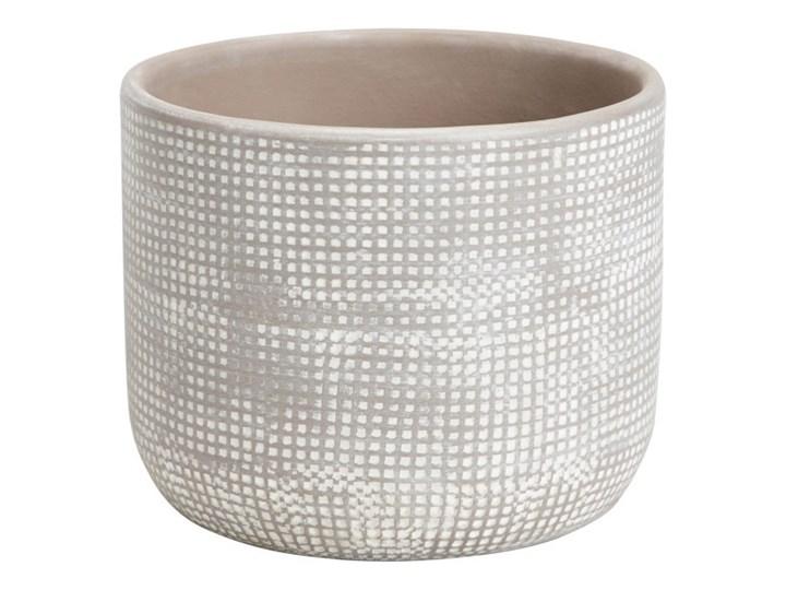 Doniczka ceramiczna GoodHome ozdobna 10,5 cm dots Doniczka na kwiaty Ceramika Kategoria Doniczki i kwietniki