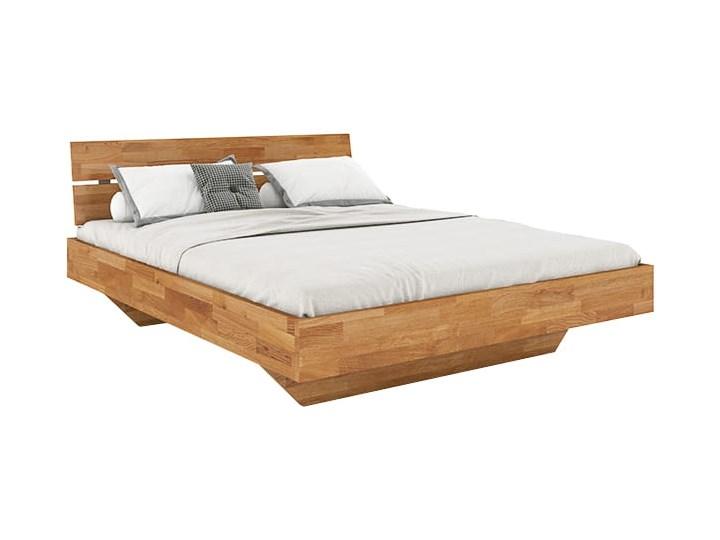 Łóżko dębowe FLOW Style (160x200) Soolido Meble Łóżko drewniane Kolor Brązowy Kategoria Łóżka do sypialni