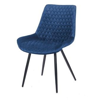 Krzesło SIGO granat aksamit