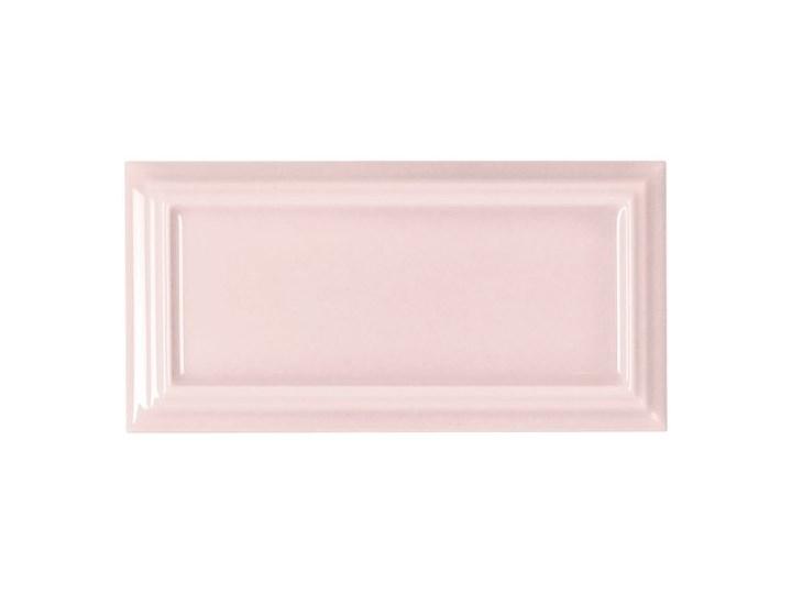 Hamptons Tiana Pink 6,5x13 płytka ścienna 6,5x13 cm Płytki podłogowe Kolor Różowy Płytka ceglana Prostokąt Płytki ścienne Powierzchnia Polerowana