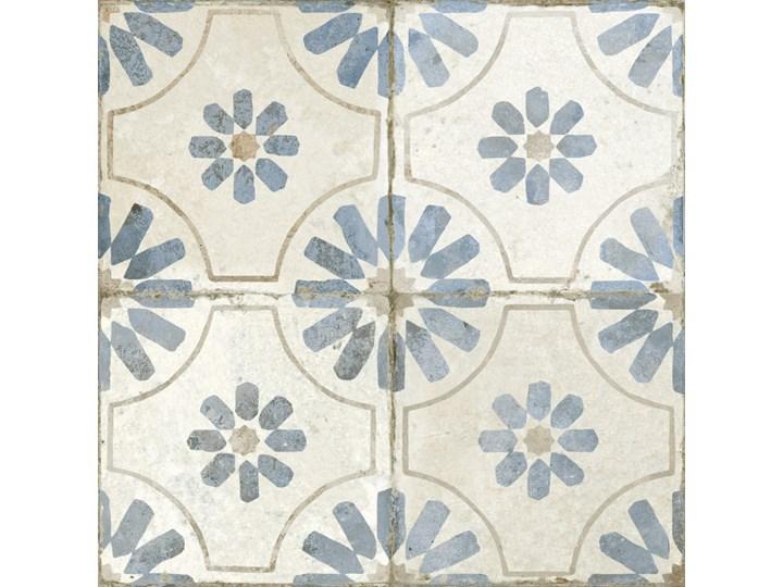 FS Blume Blue 45x45 płytka patchworkowa