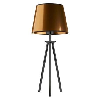 Lampa stołowa z abażurem BERGEN MIRROR WYSYŁKA 24H