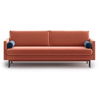 Sofa Blues z funkcją spania, Peach/Admiral