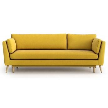 Sofa Jane 3-osobowa z funkcją spania, Canary