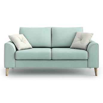 Sofa William 2 osobowa, Aquamarine Mint/Melva 02