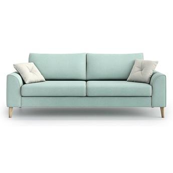 Sofa William 3-osobowa, Aquamarine Mint/Melva 02