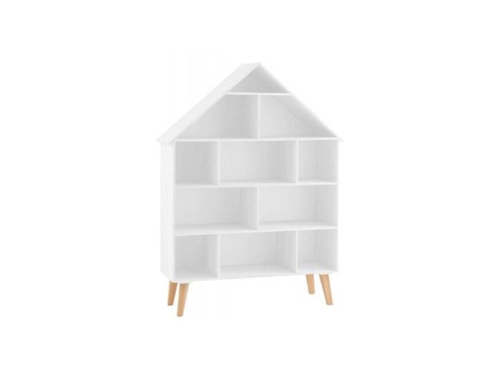 DOMEK PÓŁKI NA NÓŻKACH 115CM X84CM Mdf/Plywood White (JL1769) BELGIA