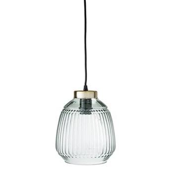 LAMPA GREEN GLASS  BLOOMINGVILLE