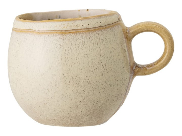 KUBECZEK APRIL MULTICOLOR BLOOMINGVILLE Kolor Zielony Kamionka Kubek do kawy i herbaty Szkło Kolor Wielokolorowy