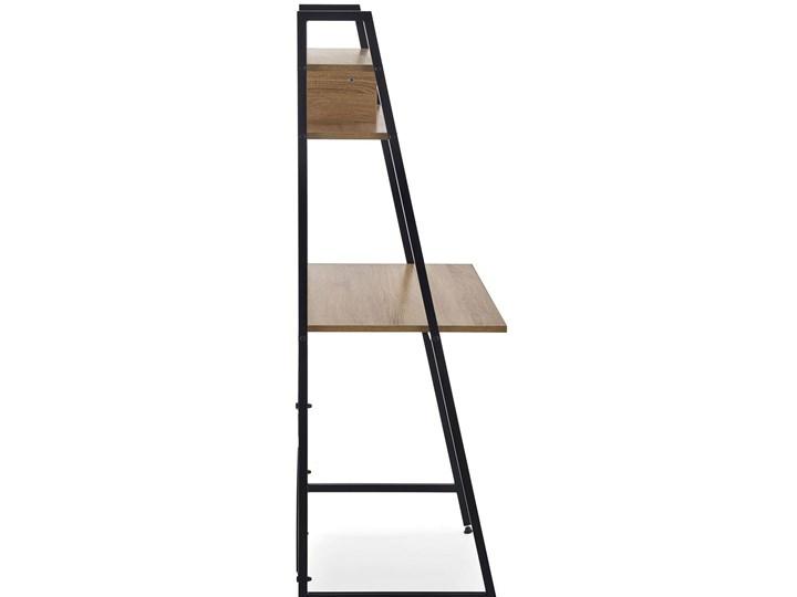 Loftowe biurko Lusso 3X - dąb sonoma Głębokość 46 cm Biurko drabina Szerokość 84 cm Styl Vintage