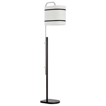 Nowoczesna lampa podłogowa ANTONINA I czarny/biały śr. 42cm